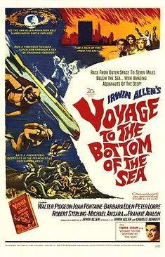 Voyage To The Bottom Of The Sea (1961), yes it's a disaster movie kind of.  World's burning to a crisp.