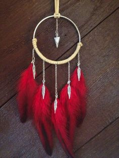 Perfect red dreamcatcher
