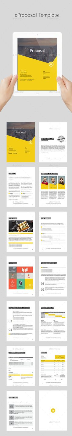 eProposal Template #design Download: http://graphicriver.net/item/eproposal-template/11876063?ref=ksioks