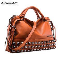 30198826b332 New Stylish Rivet Women s Handbag   Super Sale   57.00  amp  FREE Shipping  Worldwide
