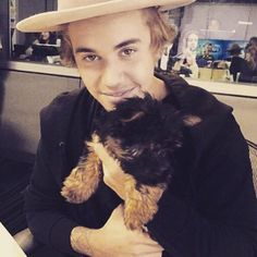 21 Adorable Pets and the Celebrities Who Love Them | Justin Bieber and Esther