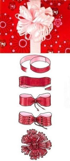 How to Tie a DIY Ribbon Bow for Gift Packaging | iCreativeIdeas.com Like Us on Facebook ==> https://www.facebook.com/icreativeideas