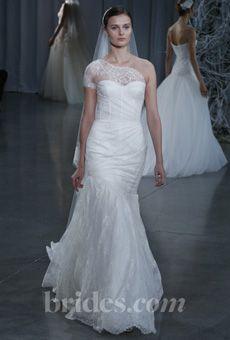 Brides: Monique Lhuillier - Fall 2013 | Bridal Runway Shows | Wedding Dresses and Style | Brides.com