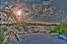 Sunset at St. Augustine Beach, FL