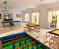 At Aseemvishwa we mean it when we say it's your absolute home. To keep you entertained, we've dedicated a special leisure gaming zone to ensure recreation for every age group with a number of indoor games like pool, chess, carom, table tennis, etc. Come home to Aseemvishwa today! For more info visit:    For project details contact us on -  +91 7767998822   +91 7770019105   www.vishwadevelopers.com    #VishwaDevelopers #Aseemvishwa #Chinchwad #2BHK #3BHK #Pune