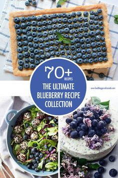 The Ultimate Blueberry Recipe Collection: 70 Recipe Ideas Blueberry Desserts, Strawberry Blueberry, Recipe 30, Recipe Ideas, Fruit And Veg, Fruits And Veggies, Most Popular Recipes, Favorite Recipes, Pork Recipes