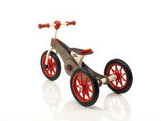 Wooden Tricycle Or Bicycle by The Secret Play Company