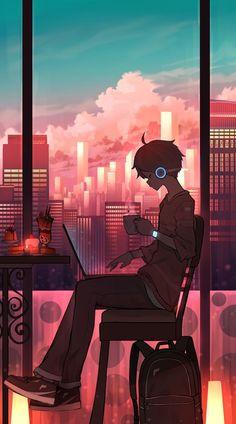 ¿Lo quieres escucharlo todo acerca de tu estilo favorito? Te mostramos toda la musica #lofi desde el inicio hasta el día de hoy. #lofianime Anime Backgrounds Wallpapers, Anime Scenery Wallpaper, Cute Anime Wallpaper, Animes Wallpapers, Cartoon Wallpaper, Cute Wallpapers, Sad Anime, Kawaii Anime, Cute Anime Guys