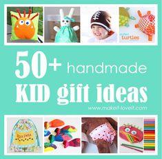 50 homemade kid gift ideas