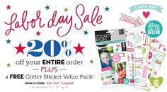 Scrapbook Enabling: Labor Day Weekend Scrapbook Sales and Discounts   Scrapbook OBSESSION