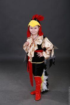 Купить или заказать Костюм петушка в интернет-магазине на Ярмарке Мастеров. Карнавальный костюм петушка для мальчика комплектация: рубашка, бриджи, жилет, шапочка, сапожки, кушак с хвостом размер 134-146+300…