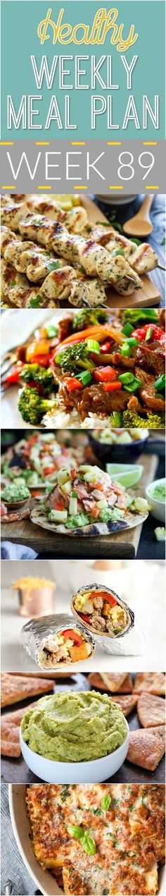 Make your life easier AND healthier with this family friendly Healthy Meal Plan!… Make your life easier AND healthier with this family friendly Healthy Meal Plan! It has a weeks worth of healthy recipes that you - Healthy Weekly Meal Plan, Healthy Diet Recipes, Easy Meal Prep, Diet Meal Plans, Healthy Snacks, Easy Meals, Healthy Eating, Healthy Menu, Weekly Menu