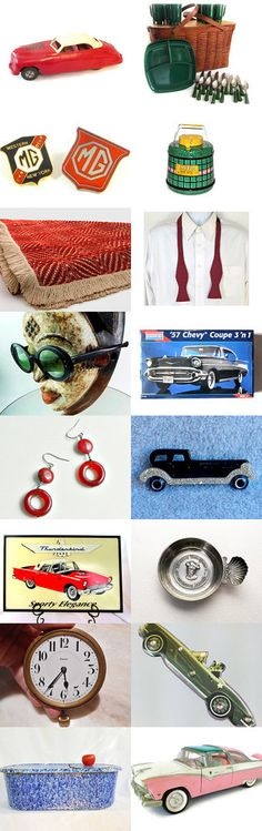 Monterey Car Week Fun at Pebble Beach August 15-21 by Encore Emporium on Etsy--Pinned+with+TreasuryPin.com