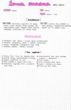 Polish Language, School Motivation, School Notes, Study Notes, Back To School, Medicine, Advice, Bullet Journal, Science