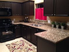 What A Difference A Color Change Can Make., Painted My Horrible Builders  Grade Golden Oak Cabinets In Sherwin Williams ...