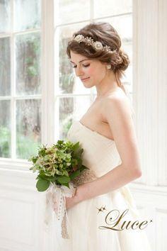 結婚式 髪型 花嫁 - Google 検索