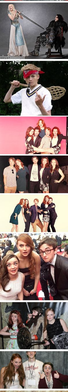 Adorkable Game of Thrones cast