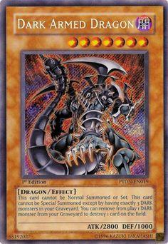 Yugioh card - Dark armed dragon