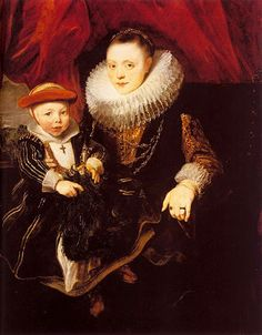 Young Woman and Child by Anthony van Dyck    Date: 1618