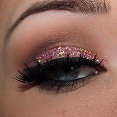 Beautiful glitter eyes