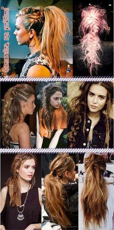 """Esse ano vimos algumas tendências capilares, digamos, exóticas! Lembram do Splashlight, que é um raio de luz invandindo seus cabelos? Ou até mesmo o penteado meio rabo de shih-tzu? Pois bem, já que 2015 tá logo aí, noto um novo movimento: o cabelo de guerreira. Do que se trata? Lá fora chamam esse penteado de """"warrior […]"""