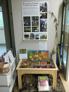 Very engaging setup for a science center in the classroom! by jenna~ there are more class ideas