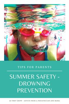 It's summertime, which means more time in and around water for most children. This week's post discusses the risks of drowning and ways we can help protect our children and prevent drowning accidents. Summer Safety, It's Summertime, Summer Time, Children, Water, Young Children, Gripe Water, Boys, Daylight Savings Time