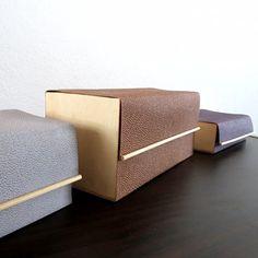 DIY juwelendoosjes van hout en leer