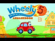 Мультики про машинки Игры для детей Wheely 5 Armageddon
