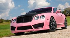 MANSORY Vitesse Rosé special edition of the Bentley Continental GT Speed