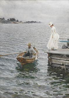 Vacaciones de verano (1886) Anders Zorn