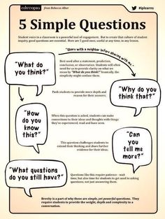 Five Simple Questions To Ask Your Students | Activity Leadership Blog - Metamodel in NLP - PNL e metamodello