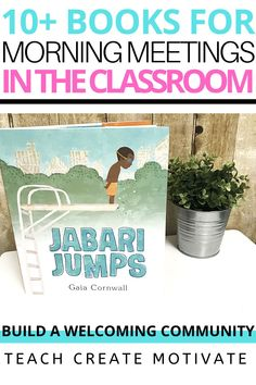 Morning meetings are such an important part of the day in my elementary classroom, because it's a great way to build relationships and a community! In this post, I'm sharing 10 of my favorite books to read with my students for morning meetings and different activities to try! These are great for upper grade levels, but could be adapted for primary as well. Diversity In The Classroom, Ela Classroom, Classroom Community, Special Education Classroom, Classroom Resources, Classroom Organization, Classroom Management, Teacher Resources, Teaching Ideas