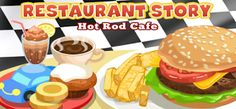 Do you need some Gems and Coins on Restaurant Story Hot Rod Cafe and don't know how to get them? Then our Restaurant Story Hot Rod Cafe H. Restaurant Game, Android, Social Games, Delicious Restaurant, Secret Recipe, Free Download, Tasty Dishes, Hot Rods, Yummy Food