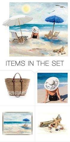 """Summer 😃"" by mlkdmr ❤ liked on Polyvore featuring art"