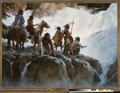 On The Brink by Howard Terpning.