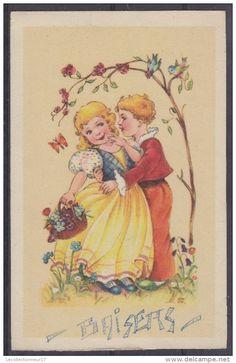 CPA  Fantaisie Couple D´enfants Réf 1280 - Enfants