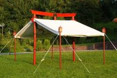 Japanese torii tent (no further info available)