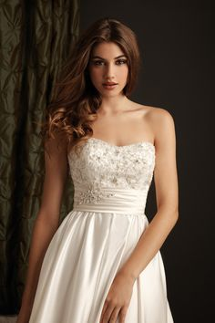Kleid der Woche: Brautkleid von Allure Bridals | evet ich will - der multikulturelle Hochzeitsblog