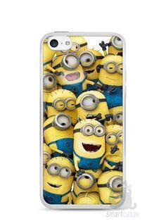 Capa Iphone 5C Minions #1 - SmartCases - Acessórios para celulares e tablets :)