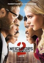 """Neighbors 2: Sorority Rising        Neighbors 2: Sorority Rising      Loše komšije 2  Ocena:  5.90  Žanr:  Comedy  """"New neighbors.""""Mac (Seth Rogen) and Kelly (Rose Byrne) are ready to make the final move into adulthood. But just as they thought they have reclaimed the neighborhood they learn that their new neighbors are even more out of control than the last. To evict them they will need help from their ex neighbor (Zac Efron).  Glumci:  Seth Rogen Zac Efron Rose Byrne Chloe Grace Moretz Ike…"""