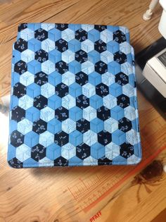 iPad cover - Patchwork - meshwork!!!,from Lisbeth Rasmussen