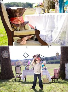 Mad Hatter's Tea Party by Amber Cather Photography
