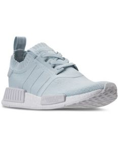 adidas Women\u0027s Nmd R1 Primeknit Casual Sneakers from Finish Line - Blue 7.5  https:/