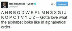 Neil deGrasse Tyson tweets