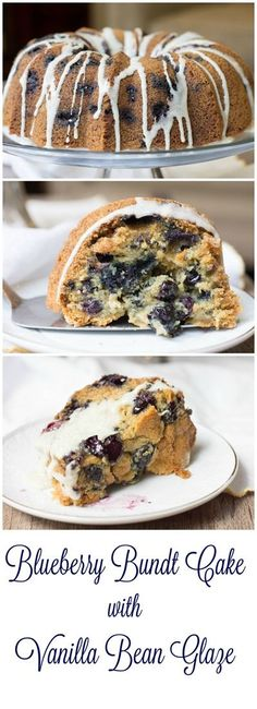 Blueberry Cake with Vanilla Glaze - maybe the best blueberry cake i've had!