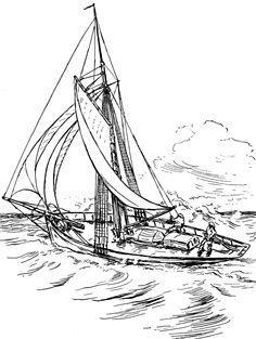 Sailboat | ClipArt ETC