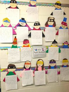 Check out these super simple and amazing superhero-themed classroom crafts and academic activities. Great ideas for Grades 3 - 6! More