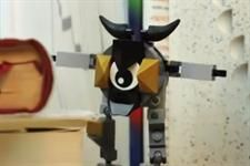 A shy mixel named Seismo stars in Lego's first Vine and Instagram videos