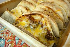 Baked Beef and Bean Tacos | Plain Chicken